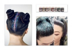 UV Glitter Hair Gel