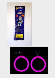 Glow Earrings - Circular