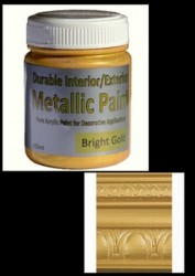 Metallic Paint - Bright Gold