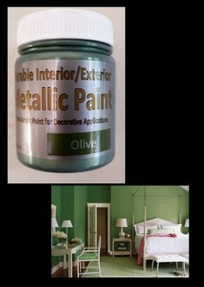Metallic Paint -  Olive