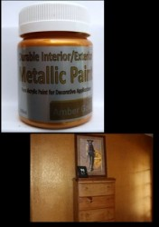 Metallic Paint - Amber Gold