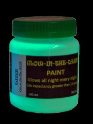 Glow-in the-dark Paint: GID Green