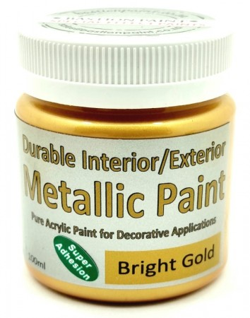 Metallic Paint- Bright Gold