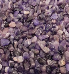 Amethyst Small Tumbled Stones - Glossy
