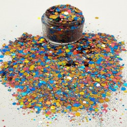 Mixed Colour and Size Glitter